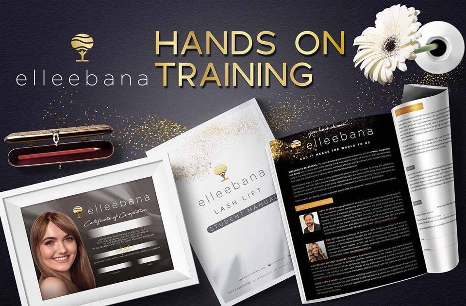 f425fb939f3 As a trainer, I offer both hands on and online certification for the  Elleebana One Shot Lash Lift.
