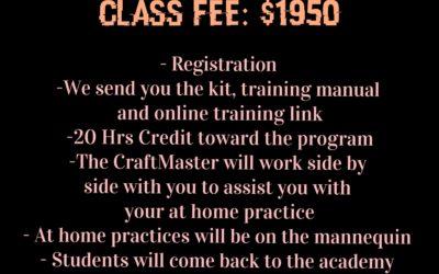 38Hr Eyelash Extension Online – Onsite Training Course
